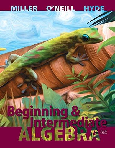 9781259672323: Beginning and Intermediate Algebra with ALEKS 52 Week Access Card