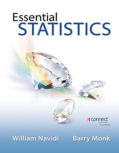 9781259673405: Essential Statistics with Formula Card and Data CD with ALEKS 18 Week Access Card