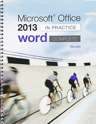 9781259674044: Microsoft ® Word 2013: In Practice with SIMnet