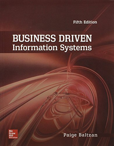 9781259675485: Business Driven Information Systems with Connect Access Card