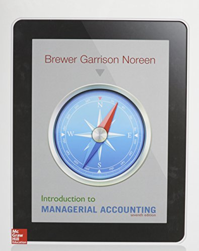 9781259675539: Introduction to Managerial Accounting with Connect