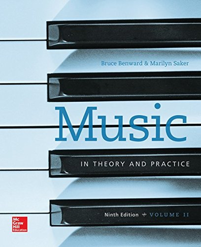 9781259676048: Music in Theory and Practice, Vol. 2 with Workbook