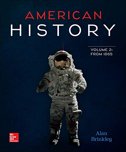 9781259677465: American History Volume 2 with 1-Semester Connect Access Card