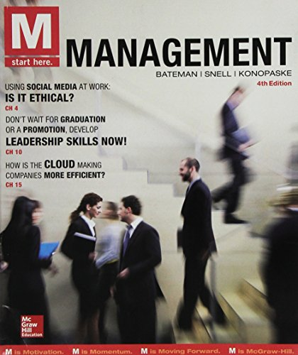 9781259678165: M: Management with Connect