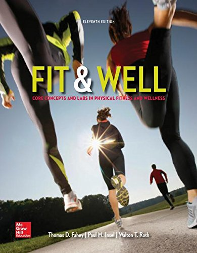 9781259681202: Fit & Well: Core Concepts and Labs in Physical Fitness and Wellness Loose Leaf Edition with Connect Access Card