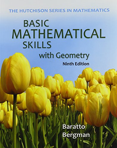 9781259681929: Basic Math Skills with Geometry with Connect Math Hosted by ALEKS Access Card