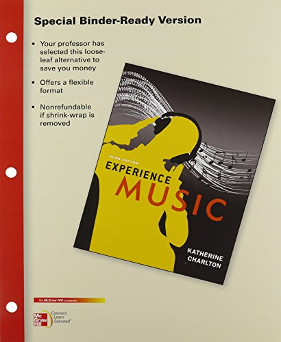 9781259682506: Experience Music (Looseleaf Version) with Music Download and Connect Access Cards