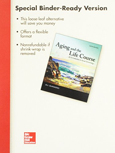 9781259683749: Looseleaf for Aging and The Life Course