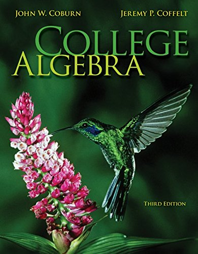 9781259684760: College Algebra with Connect Math hosted by ALEKS Access Card
