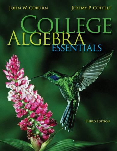 9781259684777: College Algebra Essentials with Connect Math hosted by ALEKS Access Card