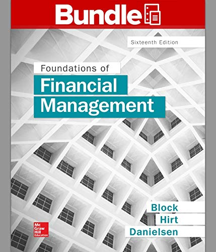 Loose Leaf Foundations of Financial Management with Connect: Stanley Block