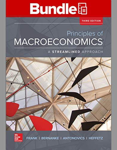9781259696084: Loose Leaf Principles of Macroeconomics, A Streamlined Approach with Connect