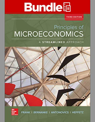 9781259696633: Loose Leaf Principles of Microeconomics, A Streamlined Approach with Connect