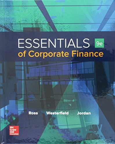 9781259697456: Essentials of Corporate Finance with Connect