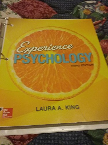 9781259698156: Experience Psychology, 3rd edition