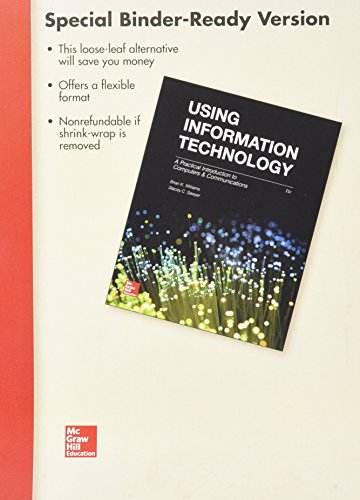 9781259698576: Loose Leaf for Using Information Technology with Connect Access Card