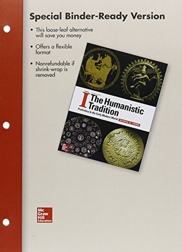 9781259702532: Loose Leaf for The Humanistic Tradition, Vol. 1 with Connect Access Card