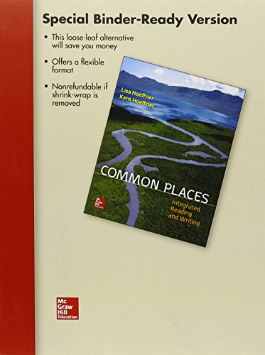 9781259704796: LL Common Places: Integrated Reading and Writing w/ Connect IRW Access Card