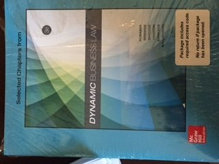 9781259707308: Dynamic Business Law 3e with Connect Access