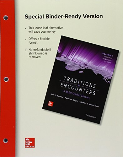9781259712746: Looseleaf for Traditions & Encounters: A Brief Global History Volume 1
