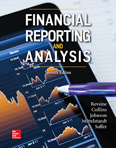 Financial Reporting and Analysis: Lawrence Revsine Financial