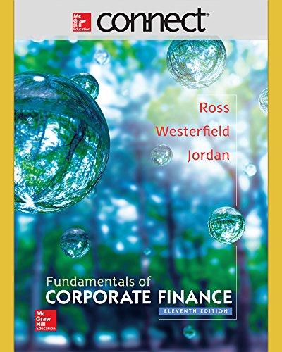 9781259724695: ND PURDUE UNIV WEST LAFAYETTE CONNECT 1S AC FUNDAMENTALS OF CORPORATE FINANCE
