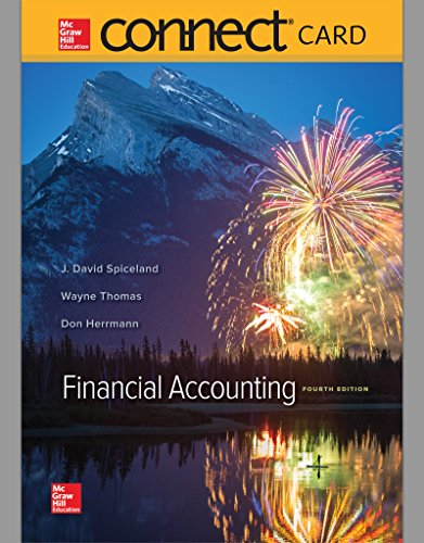 9781259730917: Connect Access Card for Financial Accounting