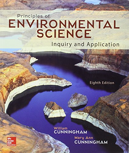 Package: Principles of Environmental Science with Connect: Cunningham Prof., William