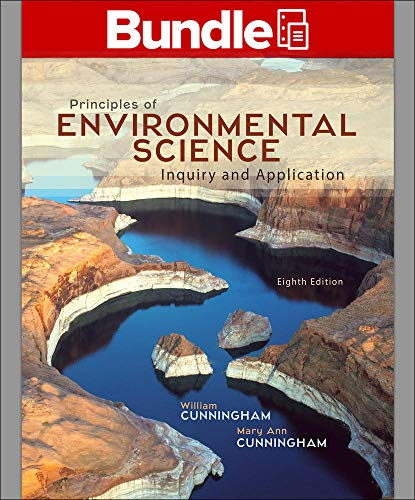 Loose Leaf Principles of Environmental Science with: Cunningham Prof., William