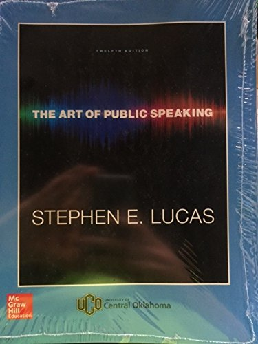 9781259732874: Art of Public Speaking Custom Edition for University of Central Oklahoma
