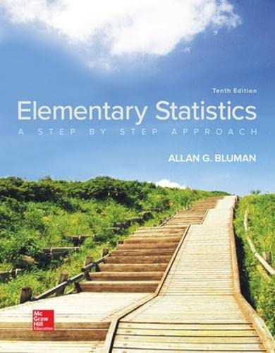 9781259755330: Elementary Statistics: A Step By Step Approach
