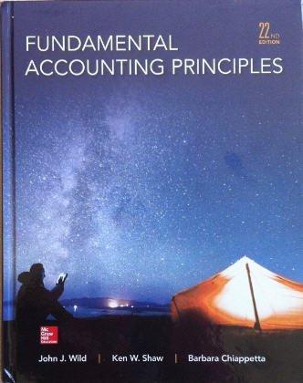 9781259761492: Fundamental Accounting Principles