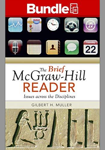 GEN COMBO THE BRIEF MCGRAW-HILL READER; CONNECT: Gilbert H Muller