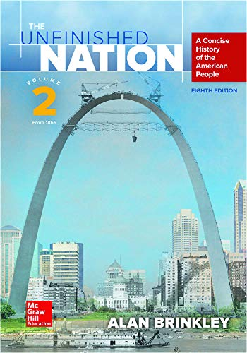 The Unfinished Nation Volume 2 with Connect: Brinkley, Alan