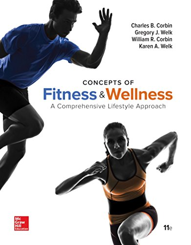 9781259764165: Concepts of Fitness and Wellness: A Comprehensive Lifestyle Approach, Loose Leaf Edition with Connect Access Card