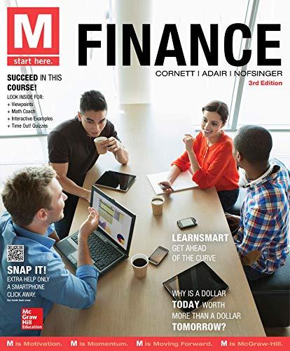 9781259784088: Loose Leaf for M: Finance