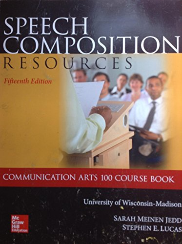 Speech Communication Resources Communications Arts 100 Course: Sarah Meinen Jedd,