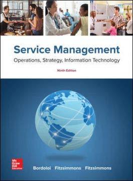 Service Management: Operations, Strategy, Information Technology: Bordoloi, Sanjeev K.,