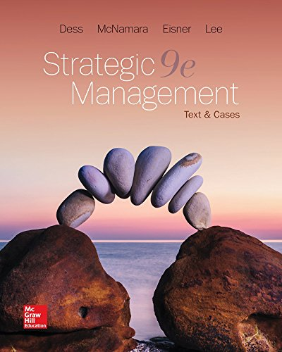 9781259813955: Strategic Management: Text and Cases