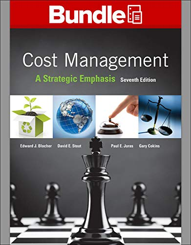 9781259818974: GEN COMBO LL COST MANAGEMENT; CNCT 2S ACCESS CARD COST MGMT