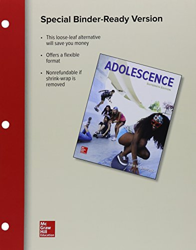 9781259819957: Loose Leaf for Adolescence with Connect Access Card