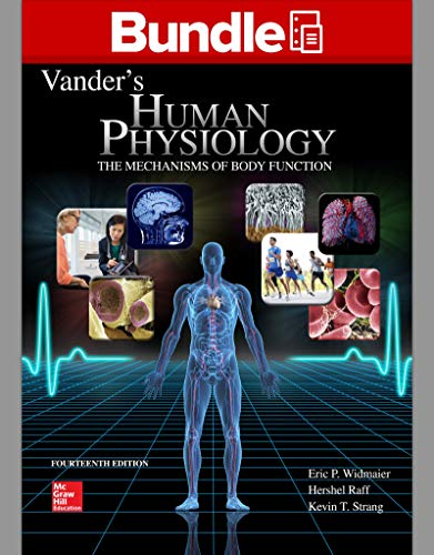 9781259820045: Loose Leaf Version of Vander's Human Physiology with Connect Access Card