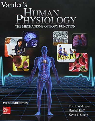 9781259821639: Vander's Human Physiology with LearnSmart Labs and Connect Access Card