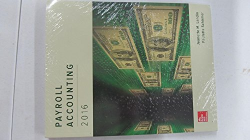 9781259821950: Payroll Accounting 2016 with Connect Access Card: GEN COMBO PAYROLL ACCOUNTING 2016; CONNECT ACCESS CARD PAYROLL ACCOUNTING 2016