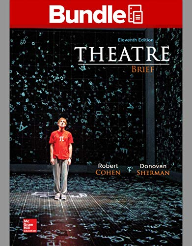 9781259822759: Loose Leaf for Theatre Brief with Connect Access Card