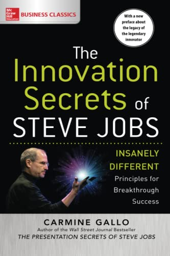 9781259835896: The Innovation Secrets of Steve Jobs: Insanely Different Principles for Breakthrough Success