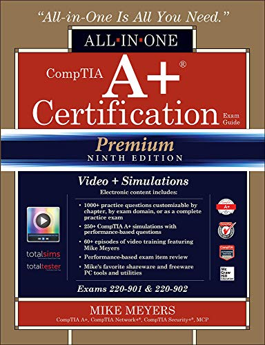 comptia a+ certification all in one exam guide