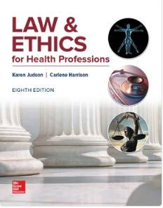 9781259844713: LAW+ETHICS FOR HEALTH PROFESSIONS