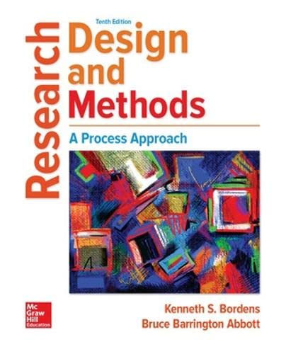 9781259844744: Research Design and Methods: A Process Approach