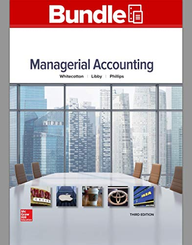 Gen Combo Loose Leaf for Managerial Accounting; Connect Access Card (Paperback): Stacey Whitecotton